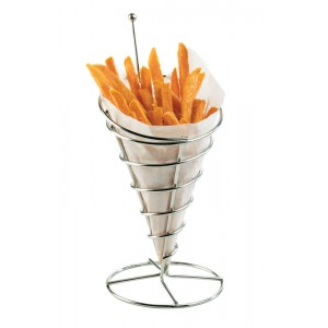 Cone Wire Appetizer Holder